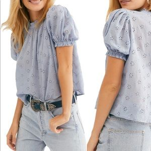 Free people Letters to Juliet Top NWT
